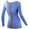 2XU W's Base Compression L/S Top Blue/Grey